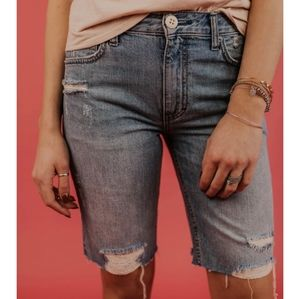 Free People Caroline Bermuda Shorts